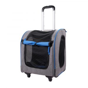 Dog and Cat Travel Carrier with Wheels